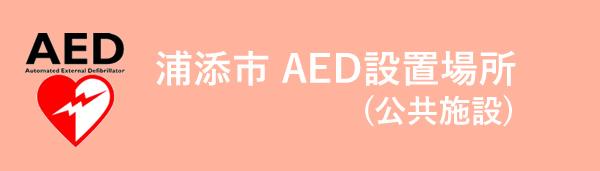 浦添市 AEDの設置場所 (公共施設)